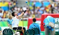 ورزشکار پرتاب وزنه کشورمان پنجم شد