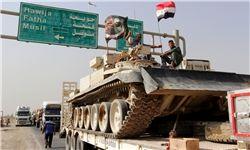 تجهیزات نظامی بیشتر به موصل وارد شدند