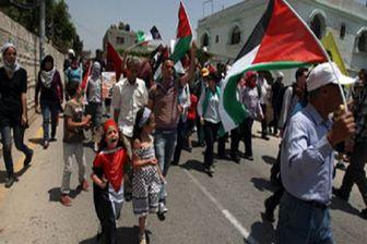 استقبال ویژه فلسطینیها از هیئت آمریکایی