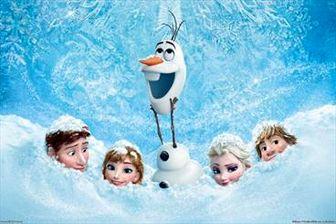 """انیمیشن """" یخ زده """" گیشهها را فتح میکند"""