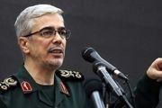 سرلشکر باقری: ظرفیتهای نابودی رژیم صهیونیستی فراهم است