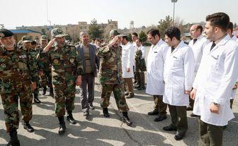 دفاع مقدس ارتش جمهوری اسلامی در مقابل کرونا /تصاویر