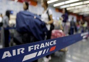 لغو ۳۰ درصد پروازهای ایر فرانس به دلیل اعتصاب کارکنان