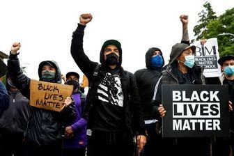 ادامه تظاهرات مردم آمریکا علیه نژادپرستی
