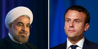 رییسجمهور فرانسه در تماس تلفنی به روحانی چه گفت؟