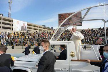 کاروان اسکورت پاپ در عراق