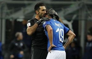 اظهارات بوفون درباره حذف تیم ملی فوتبال ایتالیا