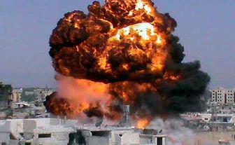 انفجار خودروی بمب گذاری شده در سوریه