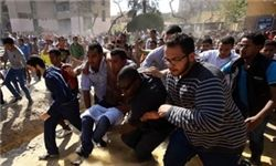 تلاش معترضان برای یورش به منزل مرسی