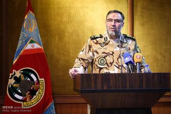 امیر حیدری: نیروی زمینی ارتش هر تهدیدی را در نطفه خفه میکند