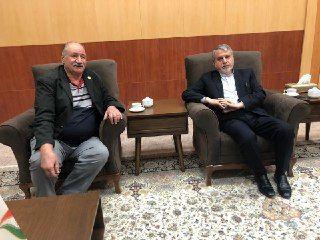 دیدار رئیس کمیته المپیک با تیمور غیاثی