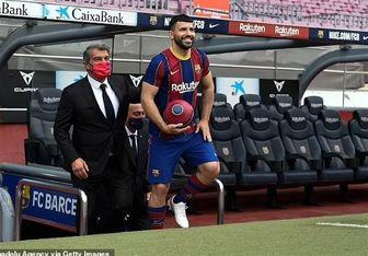 اعلام زمان اولین بازی آگوئرو در بارسلونا