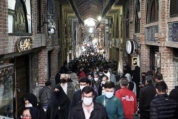 بازار تهران در روزهای هشدار کرونایی/ گزارش تصویری