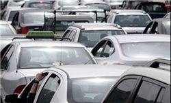 وضعیت ترافیکی پایتخت/ترافیک سنگین در بزرگراه