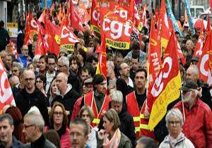 اعتصاب و تظاهرات ضد سیاستهای مکرون
