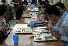 قیمت غذای دانشجویی در سال ۹۱ اعلام شد