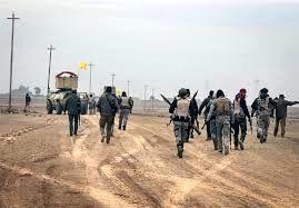 پیشروی نیروهای عراقی به سمت مسجدالنوری موصل