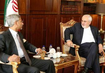 قائم مقام وزیر خارجه هند با ظریف دیدار کرد