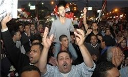تحصن هزاران نفر در مقابل کاخ ریاست جمهوری مصر