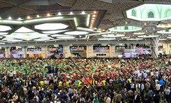 خروش صدها هزار نفری مردم تهران در حمایت از رئیسی / فیلم