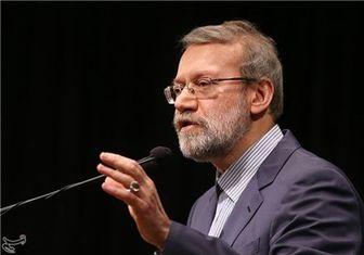 لاریجانی: مسلمانان باید یَد واحده شوند
