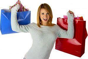 آمارهای بسیار جالب از میزان خرید کردن خانمها!