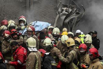تعیین هویت ۴ آتش نشان دیگر حادثه پلاسکو/ جمع هویت های شناسایی شده ۱۰ نفر