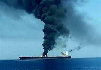 حمله به دو نفتکش در دریای عمان/ انتقال 44 ملوان به هرمزگان