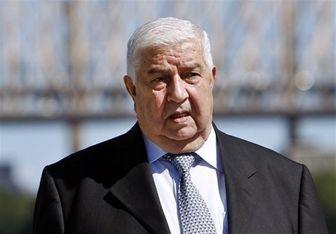 ولید معلم: 80 درصد سوریه تحت تسلط ارتش قرار دارد