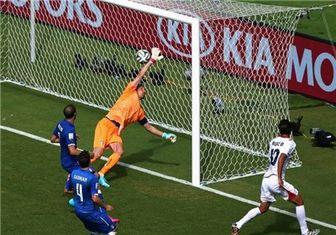 کاستاریکا با شکست ایتالیا، انگلیس را حذف کرد! + آمار