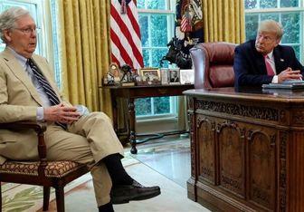 انتقاد ترامپ از رهبر اقلیت مجلس سنای آمریکا