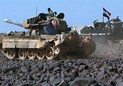 انهدام مخفیگاه تروریستها در حومه حماه
