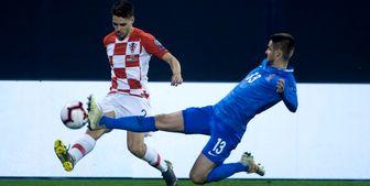 پیروزی کرواسی مقابل گرجستان