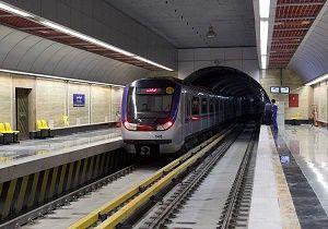 افزایش ساعت فعالیت در خط ۵ مترو تهران  از ۱۹ تا ۲۲ خرداد
