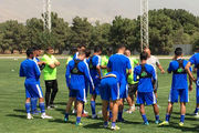 گزارش تمرین استقلال/ برخورد گرم نیکبخت واحدی با بازیکنان