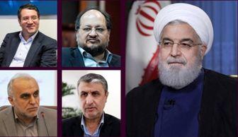 رئیس جمهور به 4 وزیر جدید حُکم داد