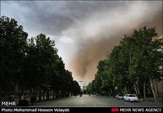 تداوم گرد و غبار در پایتخت