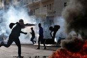 تظاهرات ضد آمریکایی در فلسطین