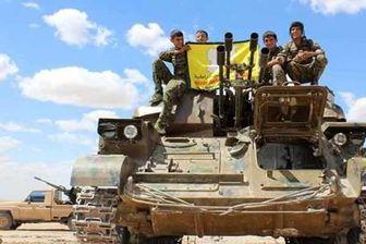 ادامه پیشروی نیروهای کرد در جنوب حسکه