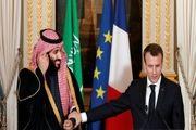 رایزنی ماکرون و ولیعهد عربستان درباره لبنان