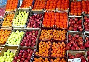 بازار میوه وترهبار تحت تاثیر بارندگیها