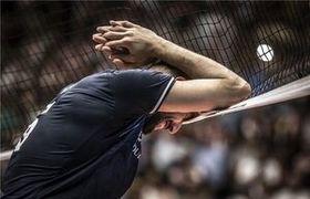 قیچی برگردون محمد موسوی در والیبال+ فیلم