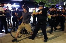 بازداشت دوچرخهسواران درشب افتتاحیه المپیک لندن