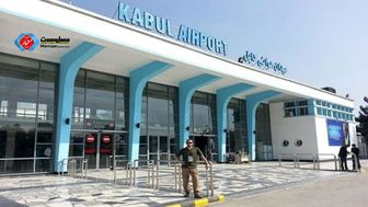 فرود یک هواپیمای قطری در فرودگاه کابل+ عکس