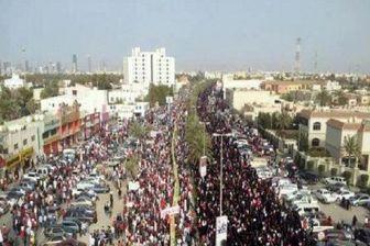 حرکت بحرینیها به سوی میدان اللؤلؤه + عکس
