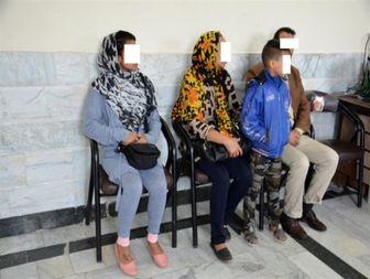 سارق حرفهای با خانواده اش دستگیر شد+تصویر