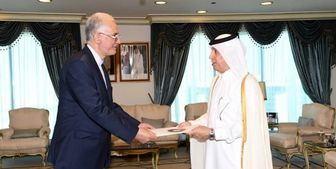 سفیر جدید ایران در قطر استوارنامه خود را تقدیم کرد