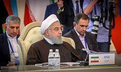 روحانی: هیچ شناور نظامی خارجی نمیتواند در دریای خزر رفت و آمد کند