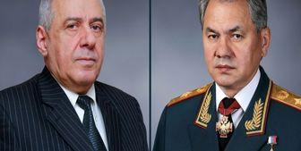 گفتوگو وزرای دفاع روسیه و ارمنستان درباره همکاری نظامی