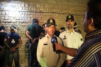اراذل و اوباش مسلح در ورامین به دام افتادند